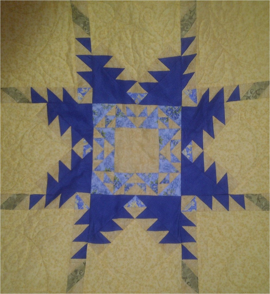 Summer quilt – by Janet