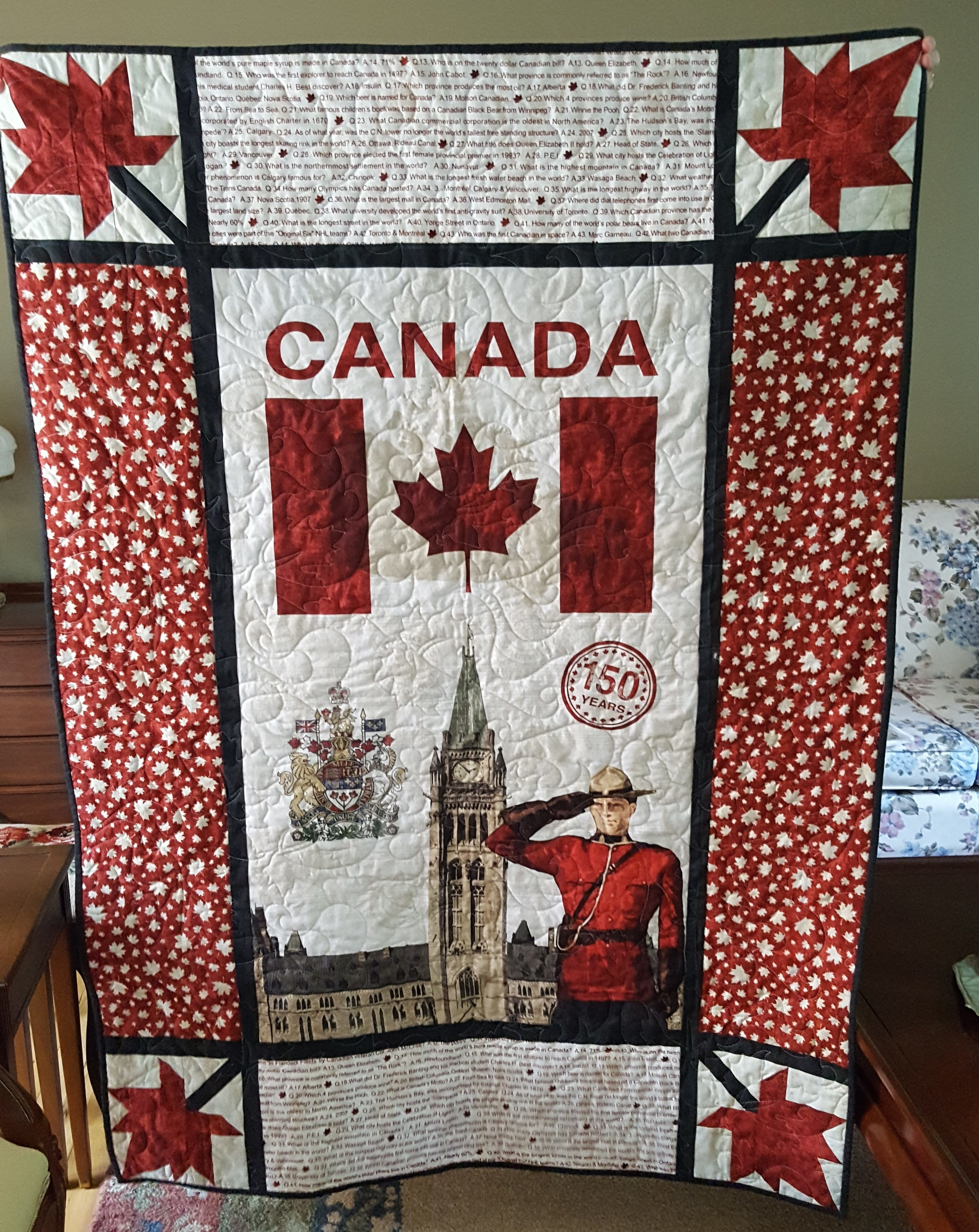 A Quilt for Canada Day