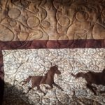 A horse themed quilt